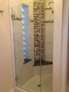 Residential Frameless Shower Enclosure